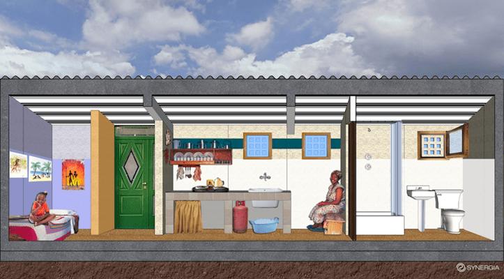 Synergia Progetti Natasha Pulizer Sergio Los Bioclimatic design Better Living Challenge Cape Town WDC 2014