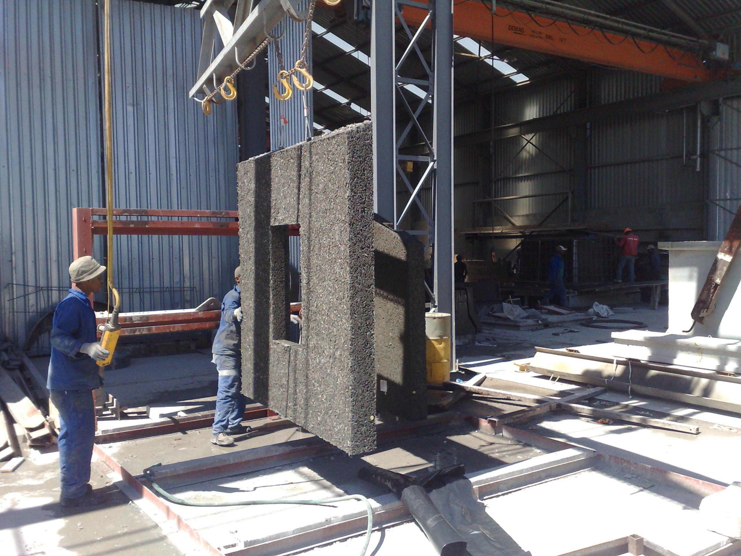 EnviroCrete Precast Wall Manufacturing